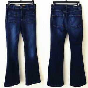 ANTHROPOLOGIE Pilcro High Rise Flare Jeans